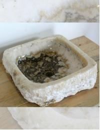 Natural Stone Ubud 44 Накладная раковина-чаша из оникса