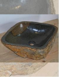 Natural Stone Мегалит Плая Накладная раковина из натурального камня