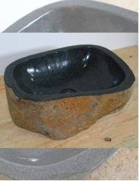 Natural Stone Мегалит №4 Накладная раковина из натурального камня