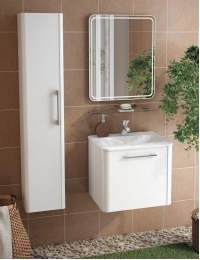 Ingenium Medley 60 Комплект мебели для ванных комнат Белый глянец (Med 600.02)