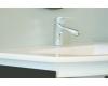 Комплект мебели для ванной Ingenium Miracle 90 (Mir 900.02) Чёрный глянец