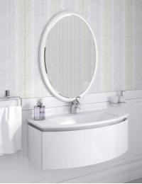 Ingenium Miracle 90 Комплект мебели для ванных комнат (Mir 900.02) Белый глянец