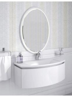 Комплект мебели для ванной Ingenium Miracle 90 (Mir 900.02) Белый глянец
