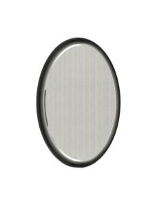 Ingenium Fusion 70 Зеркало для ванной с led подсветкой (Fus 700.15-01) Чёрный глянец