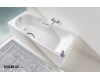 Kaldewei Saniform Plus Star 336 Ванна стальная с отверстиями под ручки, 170х75 см