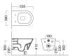 Kerama Marazzi Plaza  – Унитаз подвесной, безободковый (PLM.wc.02)