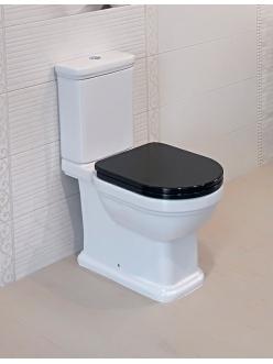 Kerama Marazzi Pompei Po.wc.01 – Комплект унитаз с бачком с черной крышкой