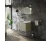 Kerasan Waldorf 9256 – Тумба подвесная 2 ящика 80 см с раковиной, белая ваниль