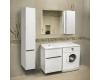 LOTOS Алисия 120 (арт. 79) – Напольная мебель под стиральную машину с 2 ящиками