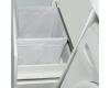 LOTOS Алисия 120 (арт. 79.БМ) – Напольная мебель под стиральную машину с 2 ящиками