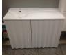 LOTOS Алисия 120 (арт. 60, 61) – Напольная мебель под стиральную машину с дверцами