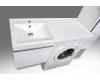 LOTOS 110 – Подвесная мебель под стиральную машину с одним выдвижным ящиком