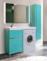 LOTOS 115 – Напольный комплект мебели с двумя ящиками и мешком для белья