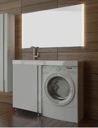 LOTOS 120 – Напольный комплект мебели с одной распашной дверью