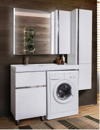 LOTOS 120 – Напольный комплект мебели, два ящика, бельевой мешок