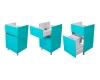 LOTOS 120 56.1 – Тумба под стиральную машину с двумя ящиками и бельевым мешком
