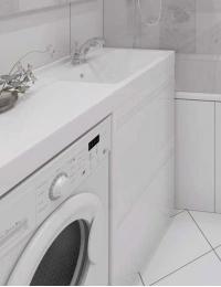LOTOS 130 – Подвесной комплект под стиральную машину с одним выдвижным ящиком