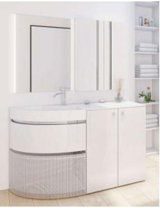 LOTOS 67 – Угловой комплект мебели для ванной комнаты