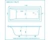 Marmo Bagno Алесса 170 – Ванна из литьевого мрамора, 170х75 см