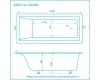 Marmo Bagno Алесса 180 – Ванна из литьевого мрамора, 180х80 см