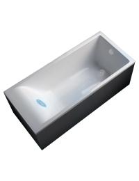 Marmo&Bagno Алесса 170x75 Ванна из литьевого мрамора, толщина борта - 4 см