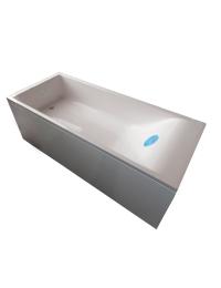 Marmo&Bagno Алесса New 180x80 Ванна из литьевого мрамора, толщина борта 5 см