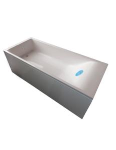 Marmo&Bagno Алесса New 150x70 Ванна из литьевого мрамора, толщина борта 5 см