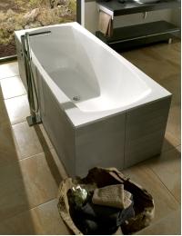 Marmo&Bagno Элза 180 х 75 – ванна из литьевого мрамора