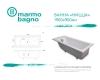 Marmo Bagno Ницца 190 – Ванна из литьевого мрамора, 190х90 см