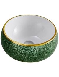 Melana MLN-A373-S03 круглая накладная раковина-чаша