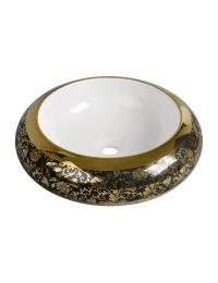 Melana MLN-A100-KB16 круглая накладная раковина-чаша