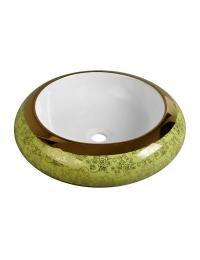 Melana MLN-A100-KG12 круглая накладная раковина-чаша