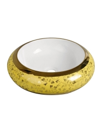 Melana MLN-A100-KY17 круглая накладная раковина-чаша