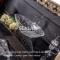 Столешница стеклянная под накладную раковину, Чёрная +31 530 ₽
