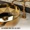 Раковина-чаша круглая Грань, керамика - Золото +16 624 ₽