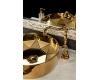 NeoArt 100 Белый – мрамор Bianca Carrera, ножки Massive, ручки Drop, раковина Хрусталь
