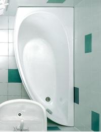 Ravak Avocado ванна акриловая асимметричная 150x75 см