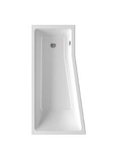 Ravak BeHappy II ванна акриловая асимметричная 150x75 см