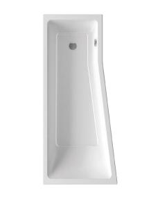 Ravak BeHappy II ванна акриловая асимметричная 170x75 см