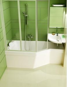 Ravak BeHappy ванна акриловая асимметричная 170x75 см