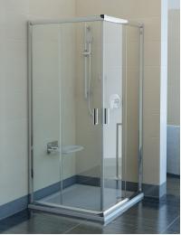 Ravak Blix BLRV2K-100 Душевой уголок 100х100 см с раздвижными дверями