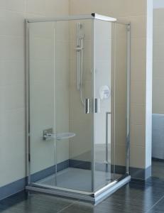 Ravak Blix BLRV2К-100 Душевой уголок 100х100 см с раздвижными дверями