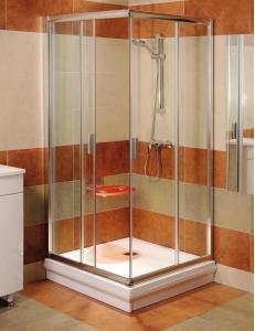 Ravak Blix BLRV2К-110 Душевой уголок 110х110 см с раздвижными дверями