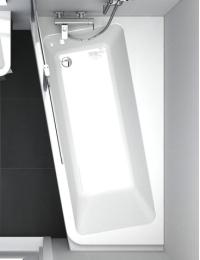 Ravak 10° ванна акриловая асимметричная 170х100 см