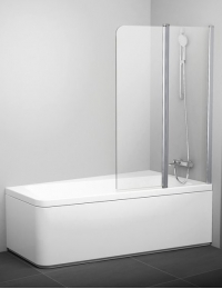 Ravak 10CVS2 100 шторка для ванны 10° распашная двухэлементная