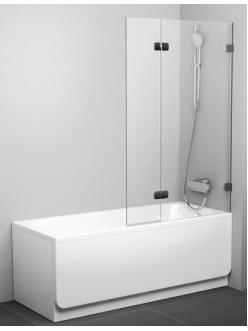 Ravak BVS2 100 шторка распашная двухэлементная для прямоугольной ванны