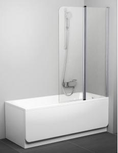 Ravak CVS2 100 шторка для ванны распашная двухэлементная