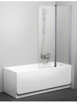 Ravak CVS2 100 шторка распашная двухэлементная для прямоугольной ванны