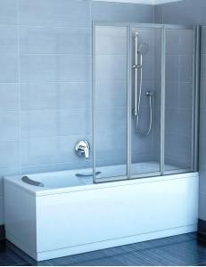 Ravak VS3 130 шторка для ванны складная трёхэлементная