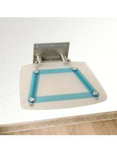 Ravak Ovo B Decor Blueline сиденье для душа складное прозрачное
